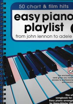 Easy Piano Playlist: Volume 1 (Book/Audio Download)