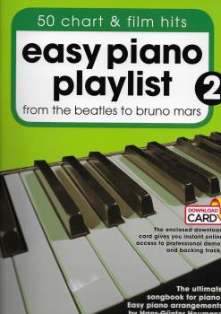 Easy Piano Playlist: Volume 2 (Book/Audio Download)