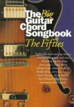 The Big Guitar Chord Songbook: 50s