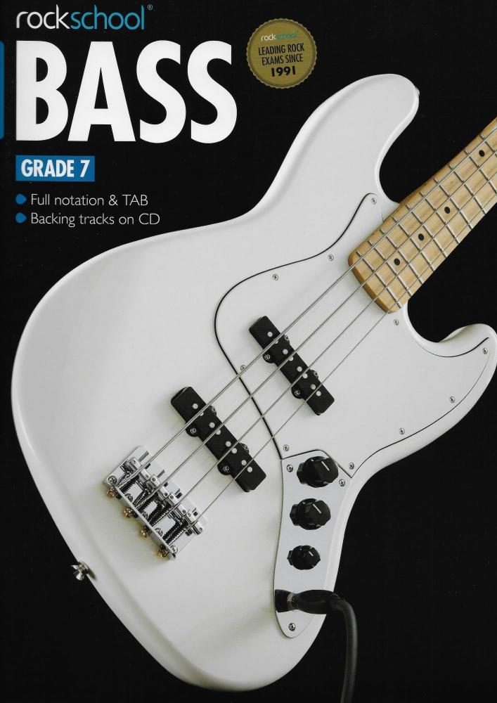 Rockschool Bass - Grade 7 (2012-2018) (Book/Download Card)