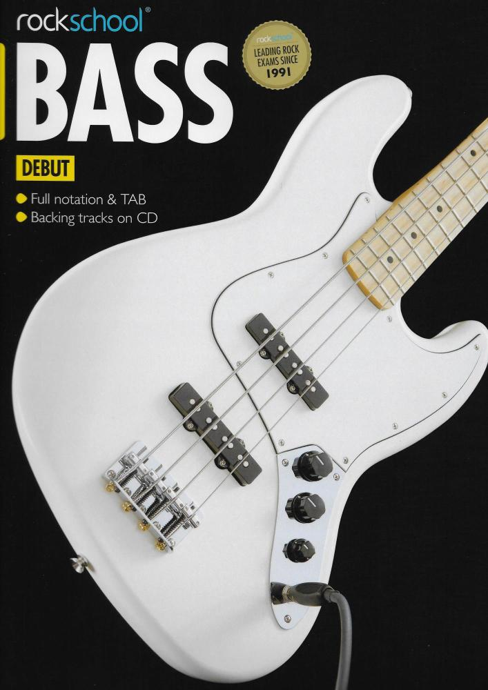 Rockschool Bass - Debut (2012-2018) (Book/Download Card)