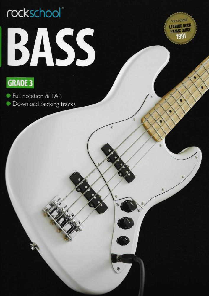 Rockschool Bass - Grade 3 (2012-2018) (Book/Download Card)