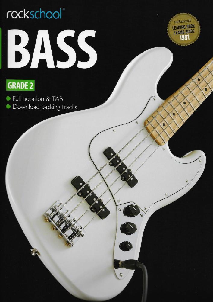 Rockschool Bass - Grade 2 (2012-2018) (Book/Download Card)