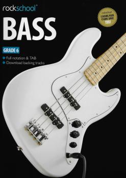 Rockschool Bass - Grade 6 (2012-2018) (Book/Download Card)