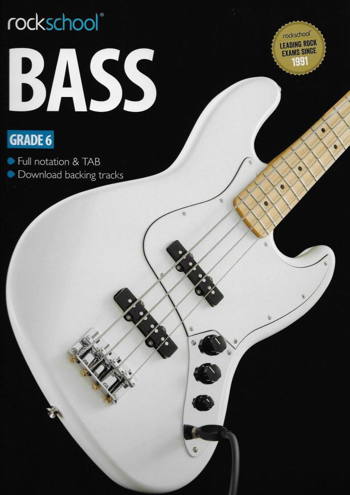 Rockschool Bass - Grade 6 (2012-2018) (Book/Download Card)