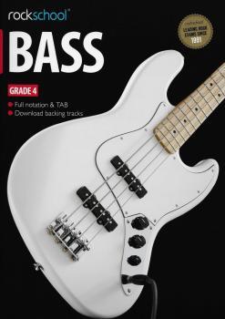 Rockschool Bass - Grade 4 (2012-2018) (Book/Download Card)