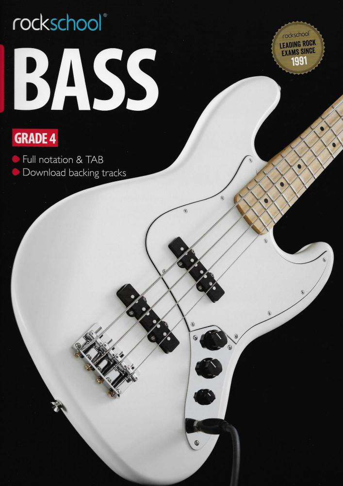 Rockschool Bass - Grade 4 (2012-2018) (Book/Download Card)