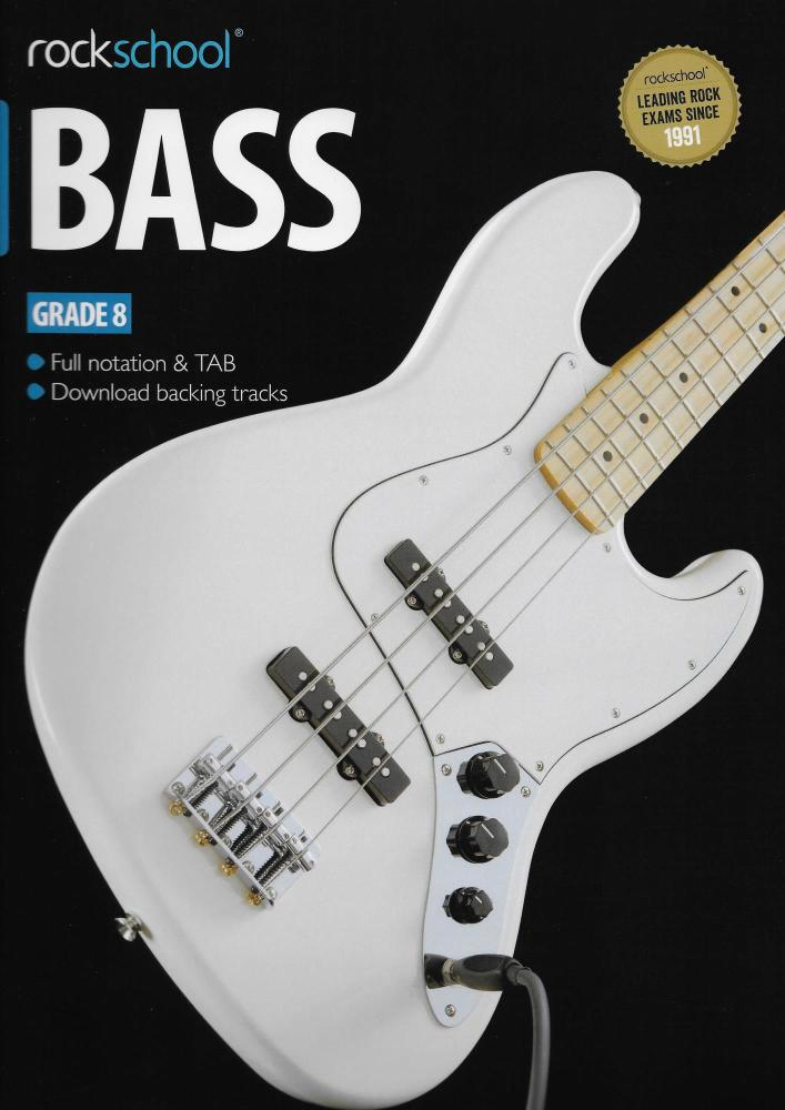 Rockschool Bass - Grade 8 (2012-2018) (Book/Download Card)