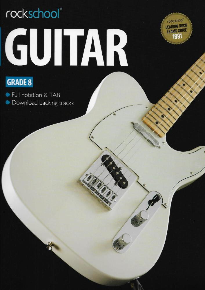 Rockschool Guitar - Grade 8 (2012-2018)