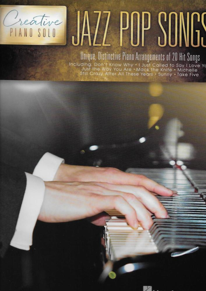 Creative Piano Solo: Jazz Pop Songs