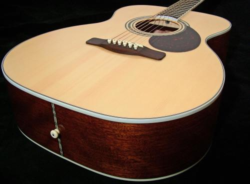 Adam Black O-5 Folk/Orchestral Natural Guitar