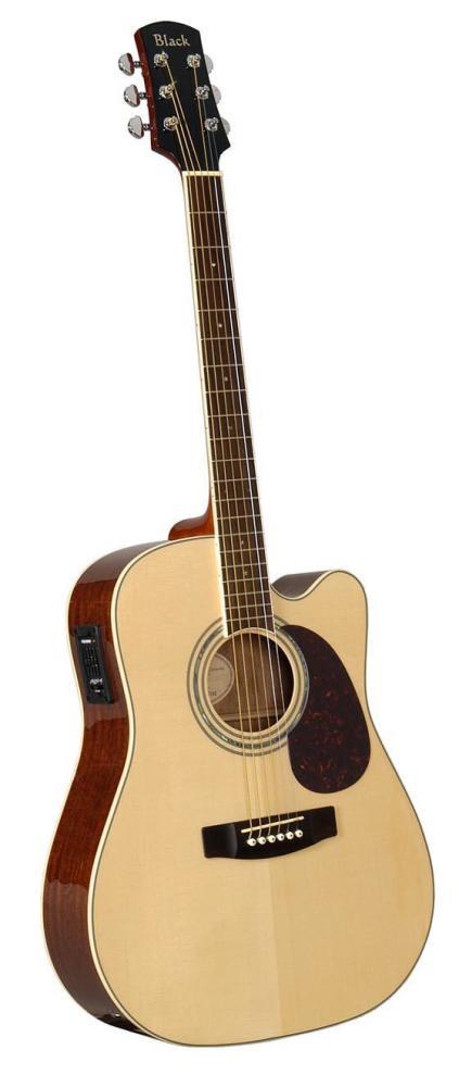 Adam Black S-5CE Dreadnought Electo Cutaway Acoustic Guitar