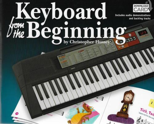 Keyboard From The Beginning (Book/Audio Download)
