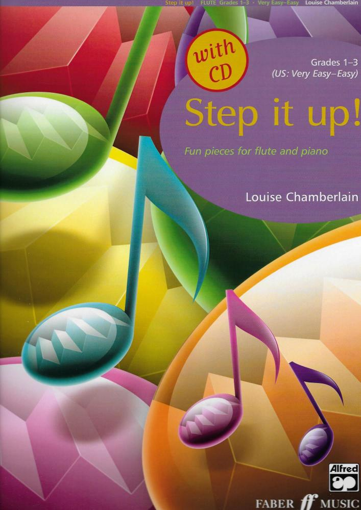 Step it up! Fun pieces for flute and piano Grades 1-3