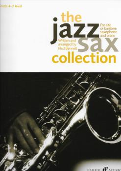 The Jazz Sax Collection (Alto/Baritone) (Instrumental Solo & Piano Accompaniment)