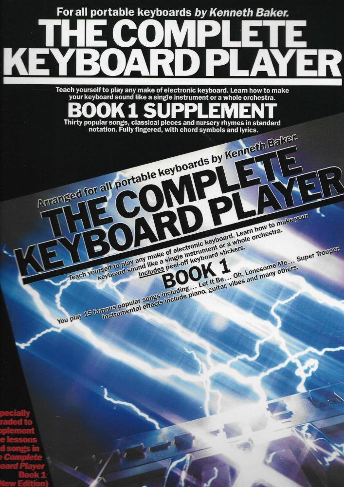 The Complete Keyboard Player: Book 1 (Supplement)