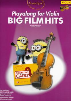 Guest Spot: Big Film Hits Playalong For Violin (Book/Audio Download)