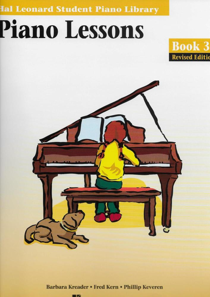 Hal Leonard Student Piano Library: Piano Lessons Book 3
