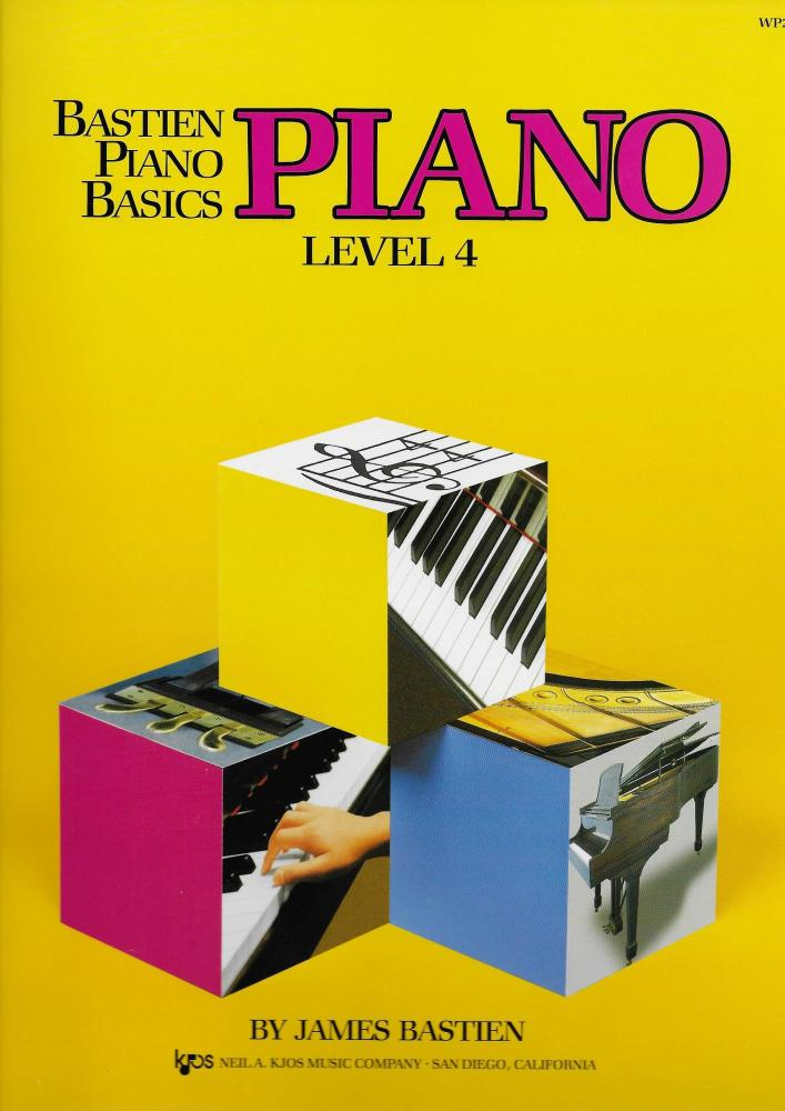 Bastien Piano Basics: Level Four
