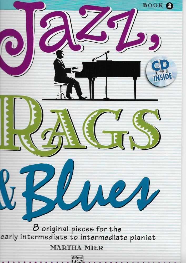 Martha Mier: Jazz, Rags & Blues - Book 2