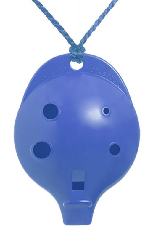Ocarina Alto 6-hole Clam Blue *D
