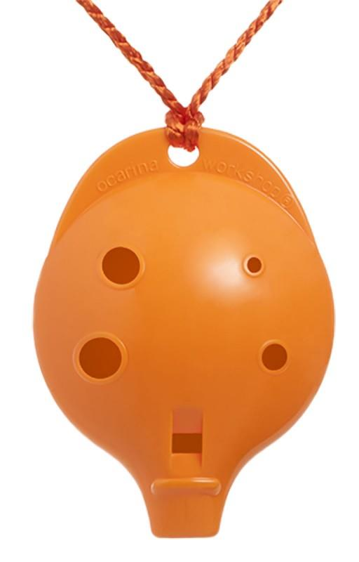 Ocarina Alto 6-hole Clam Orange *D