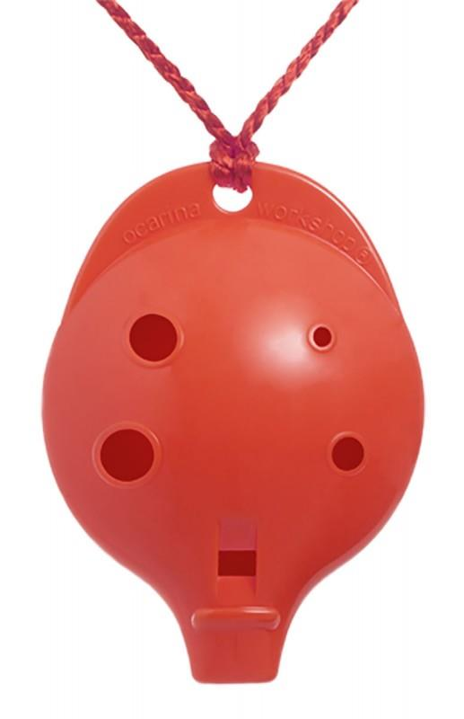 Ocarina Alto 6-hole Clam Red *D