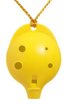 Ocarina Alto 6-hole Clam Yellow *D