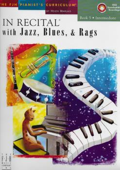 In Recital With Jazz, Blues And Rags - Book Five (Book And CD)