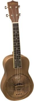 Freshman UKBRASSRES Soprano Ukulele with Brass Resonator