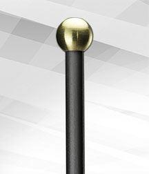 BB12-Round Brass (Hard) Mallet -Balter Basics