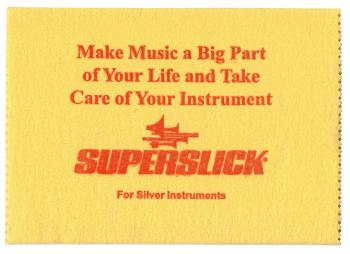 Superslick Silver Polishing Cloth