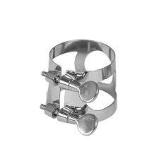 Earlham Clarinet Ligature - Nickel Plated