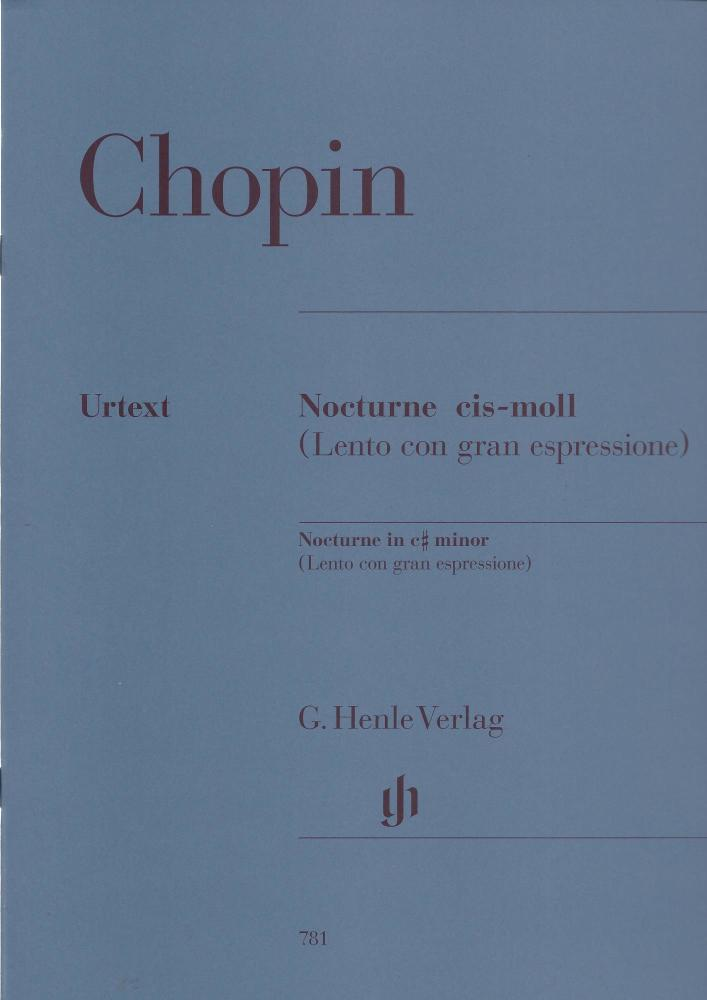 Frederic Chopin: Nocturne In C Sharp Minor Op. Post