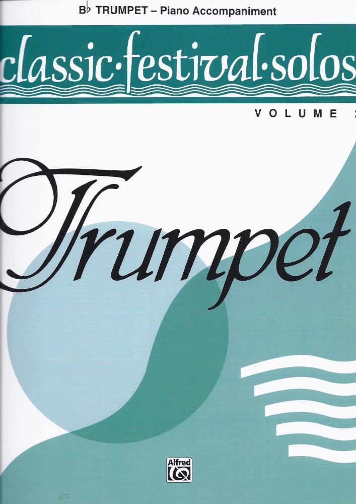 Classic Festival Solos Vol 2 - Piano Acc.