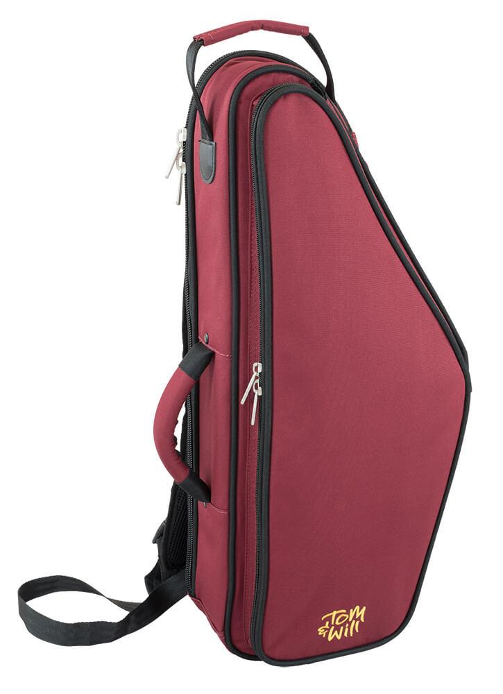 Tom & Will Alto Sax Gig Bag - Burgundy and Black