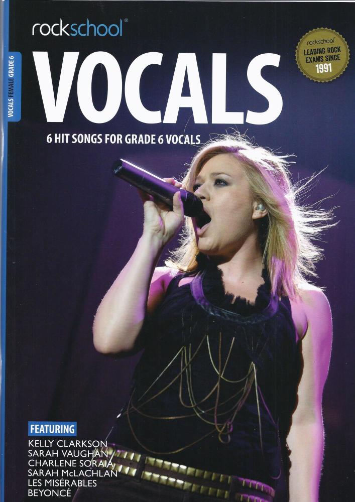 Rock School Vocals (Female) - Grade 6