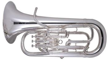 Sovereign Euphonium with Trigger - Silver Plate