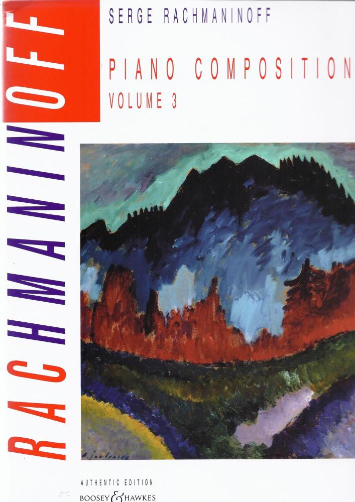 Rachmaninoff Piano Compositions Volume 3