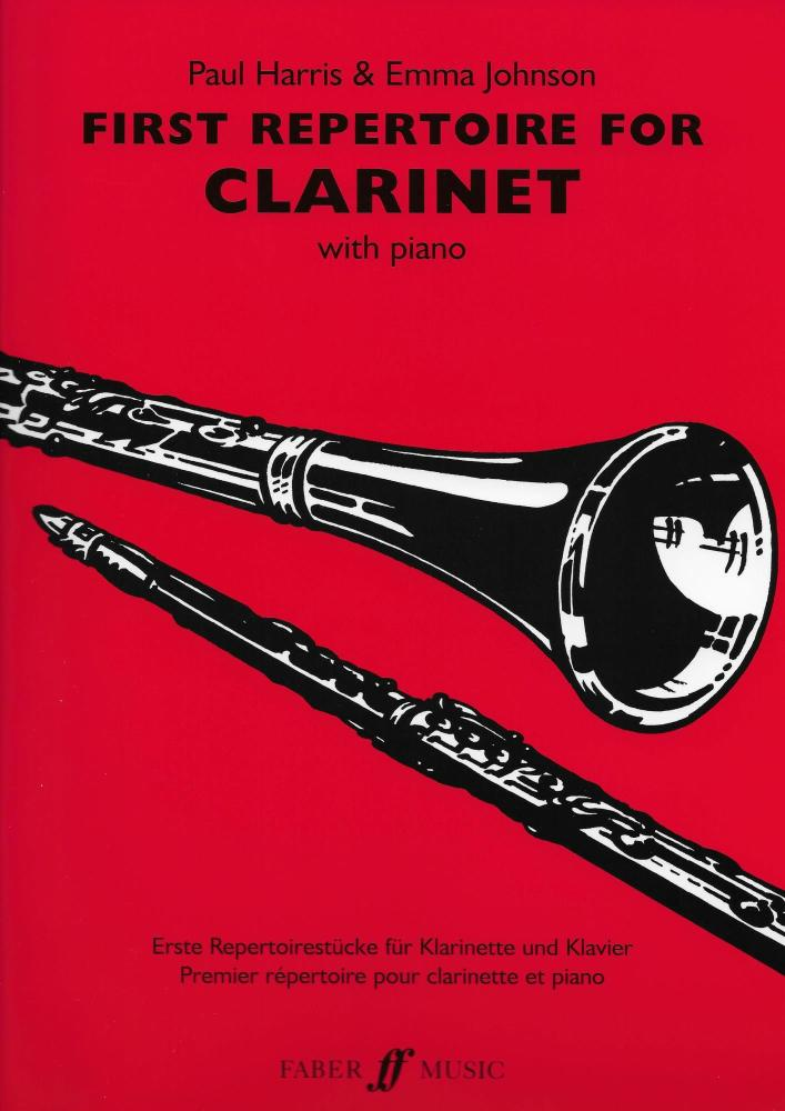 FIRST REPERTOIRE FOR CLARINET CLT BOOK