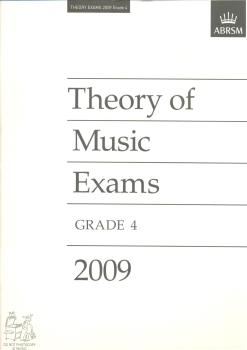 ABRSM Theory Of Music Exams 2009: Test Paper - Grade 4