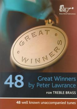 Peter Lawrence: Great Winners For Treble Brass (Book and CD)