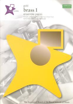 ABRSM MUSIC MEDALS BRASS 1 ENSEMBLE PIECES GOLD