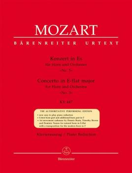 W.A. Mozart: Horn Concerto No.3 In E Flat K.447