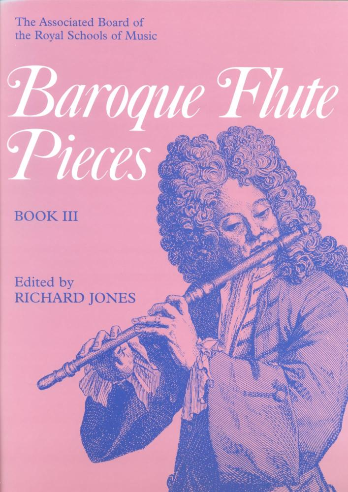 BAROQUE FLUTE PIECES BOOK 3 FLT
