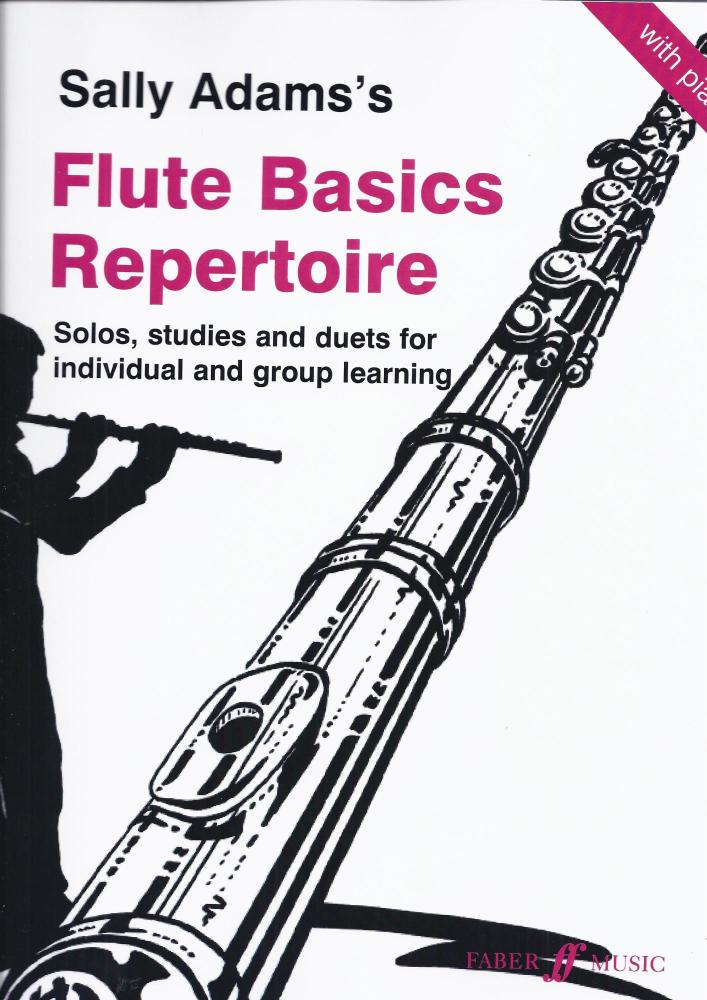SALLY ADAMS: FLUTE BASICS REPERTOIRE FLT BOOK
