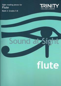 Trinity Guildhall - 'Sound At Sight' Flute Book 2 (Grade 5-8)