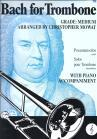 J.S. BACH: BACH FOR TROMBONE TREBLE CLEF TBN BOOK