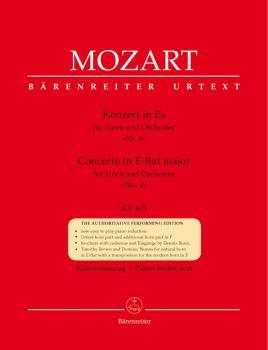 W.A. Mozart: Horn Concerto No.4 In E Flat K.495 - Horn/Piano (Barenreiter Urtext Edition)