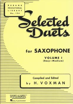 Selected Duets For Saxophone - Volume 1